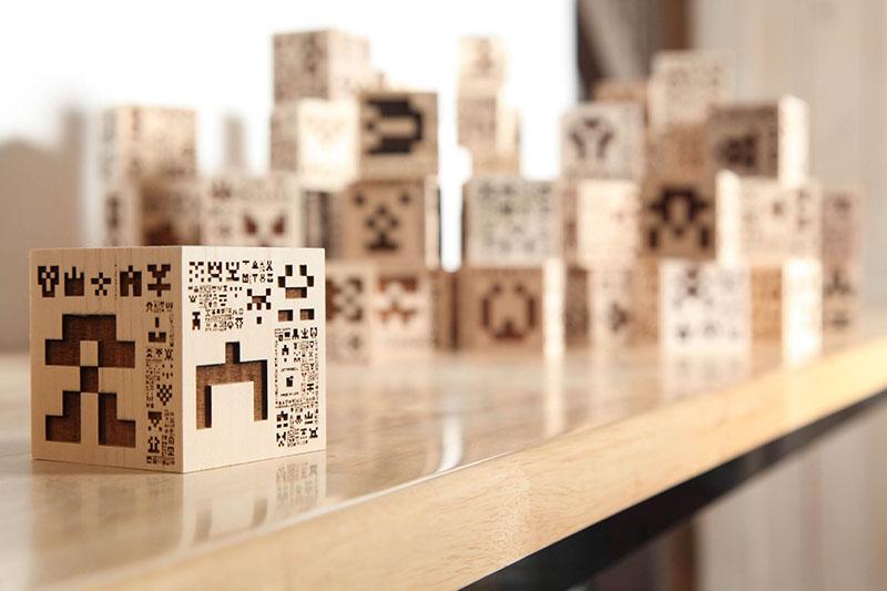 Invader Cubes